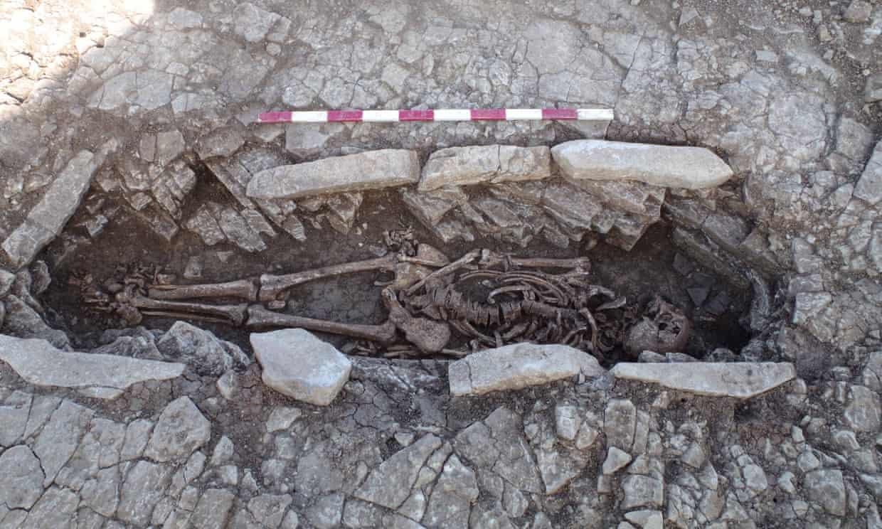 Archeologists in Somerset find high-status Romans remains.