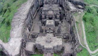 Kailasa Temple, The Massive Temple Was Chiseled By Hand For More Than 20 Years
