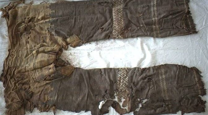 3000-year-old trousers discovered in Chinese grave oldest ever found