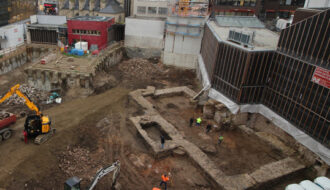 Ancient Roman Library Discovered Beneath German City
